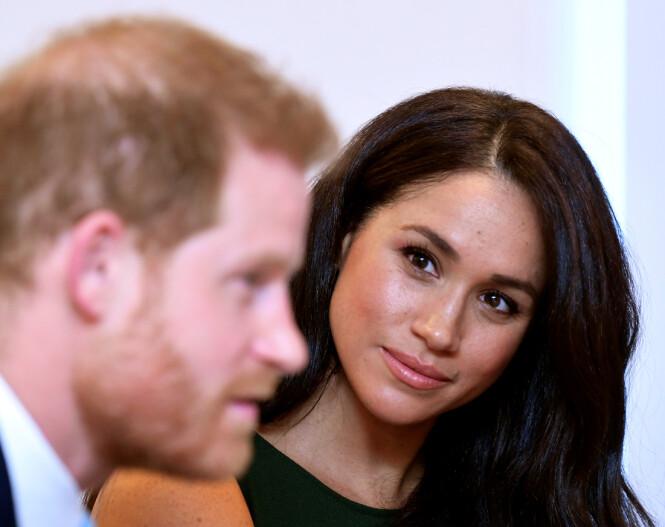 TV-STJERNE: Hertuginne Meghan var en populær skuespiller i tv-serien «Suits» før hun giftet seg med prins Harry. Foto: NTB scanpix