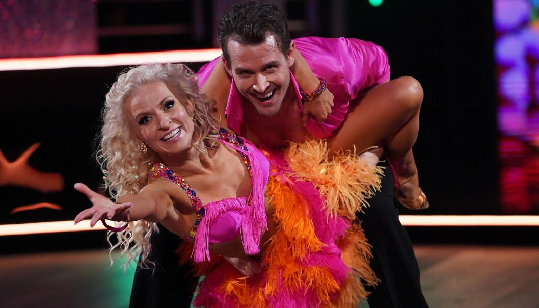 SAMBA: Aleksander Hetland og Nadya Khamitskaya. Foto: TV 2 / NTB Scanpix