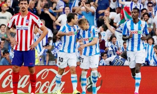 image: Real Sociedad vant uten Ødegaard