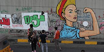 image: Iraks unge krever revolusjon
