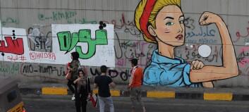 Iraks unge krever revolusjon