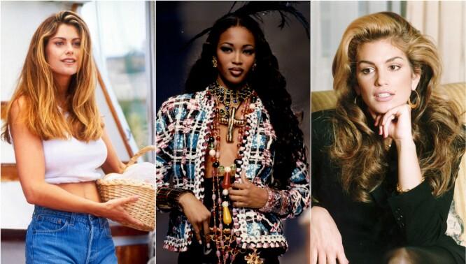 Modellenes «forvandling» de siste 30 årene