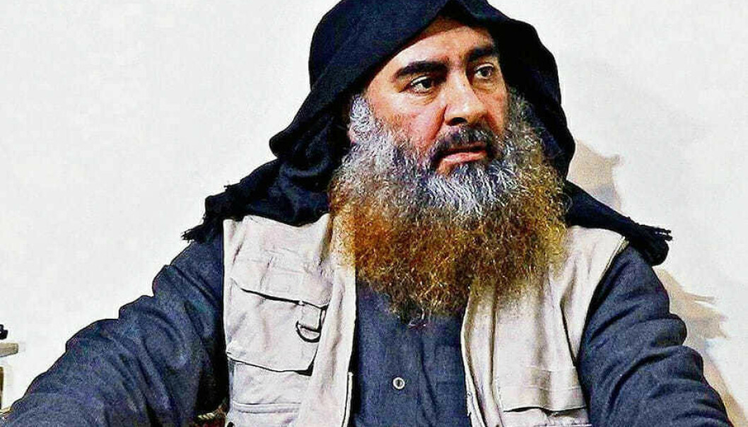Leder av IS Abu Bakr al-Baghdadi ble drept i forbindelse med et amerikanske angrep 26. oktober. Mandag ble søsteren hans anholdt av tyrkiske myndigheter. Foto: AP/ NTB scanpix