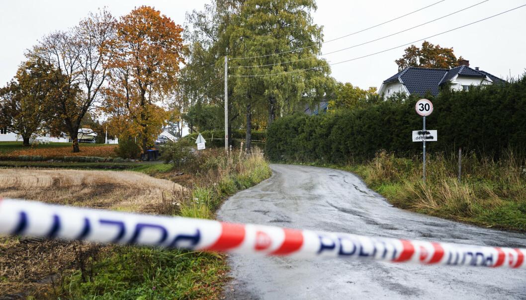 Den 15 år gamle gutten som ble utsatt for vold i sitt hjem på Toten i Oppland i oktober, døde mandag av skadene. Foto: Berit Roald / NTB scanpix.