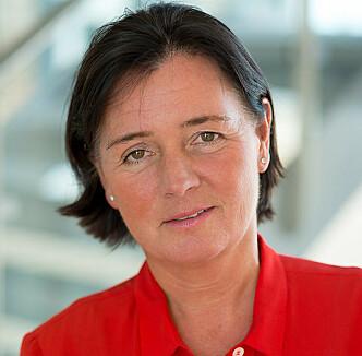 DSB-direktør Cecilie Daae. Foto: DSB