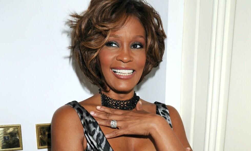 RYKTER: I flere tiår verserte det rykter om at Whitney Houston hadde et forhold til sin bestevenninne. Her er hun avbildet i 2009. Foto: NTB Scanpix
