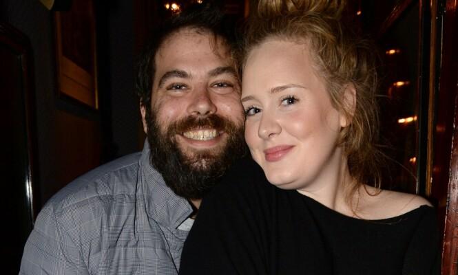 BRUDD: Under ett år etter at de giftet seg, var det over for Adele og Simon Konecki. FOTO: NTB scanpix