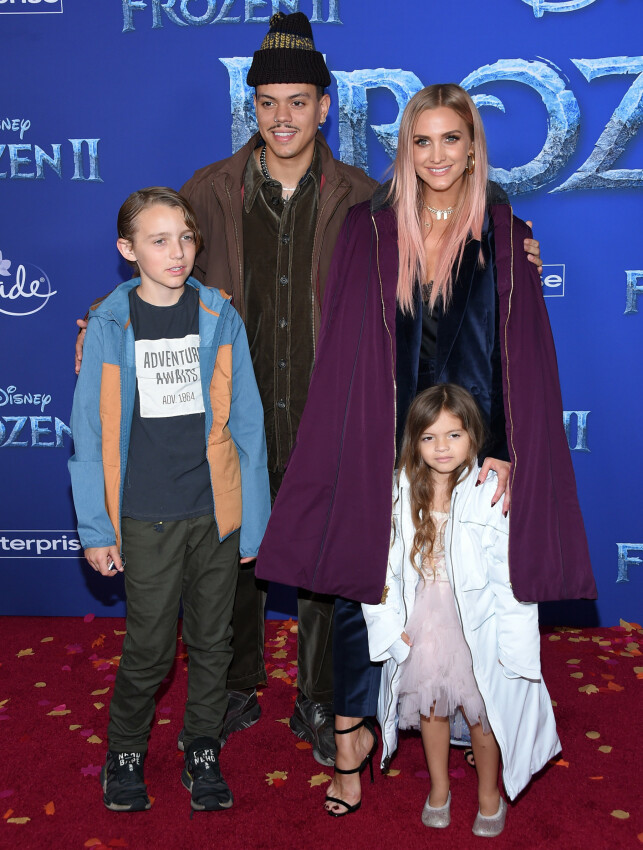 AJLEE SIMPSON: The singer brought the family on the red carpet. Photo: NTB Scanpix