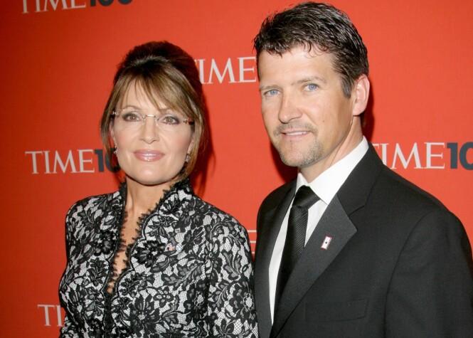 BRUDD: Etter 31 års ekteskap og fem barn tok ekteskapet mellom politikeren Sarah Palin og Todd Palin slutt denne høsten. FOTO: NTB scanpix