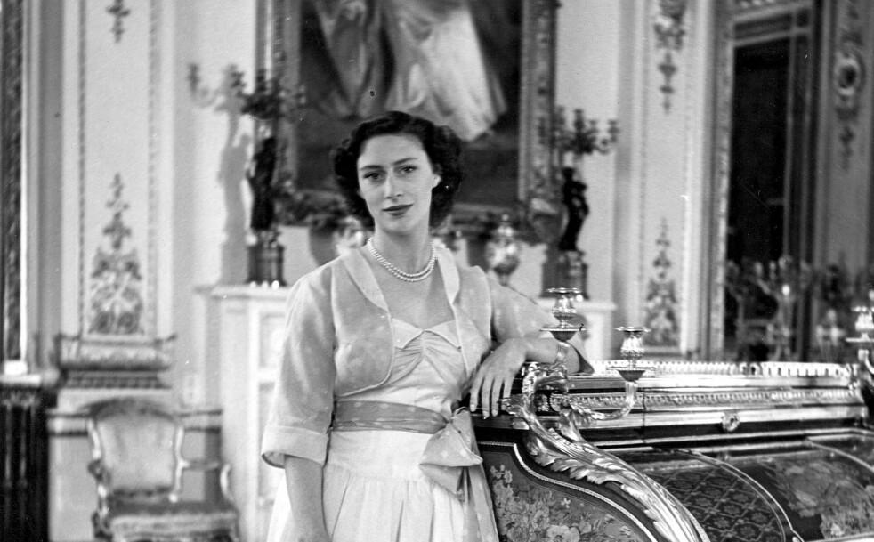 VERDENS MOTEPRINSESSE: Prinsesse Margaret fotografert på sin 21-årsdag på Glamis Castle i Skottland. Foto: NTB Scanpix