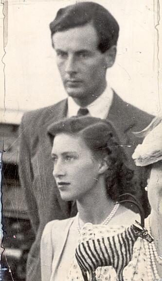 ULYKKELIG KJÆRLIGHET: Prinsesse Margaret og Peter Townsend under et kongelig besøk til Sør-Afrika i 1947. Foto: ANL/Daily Sketch/REX/NTB Scanpix