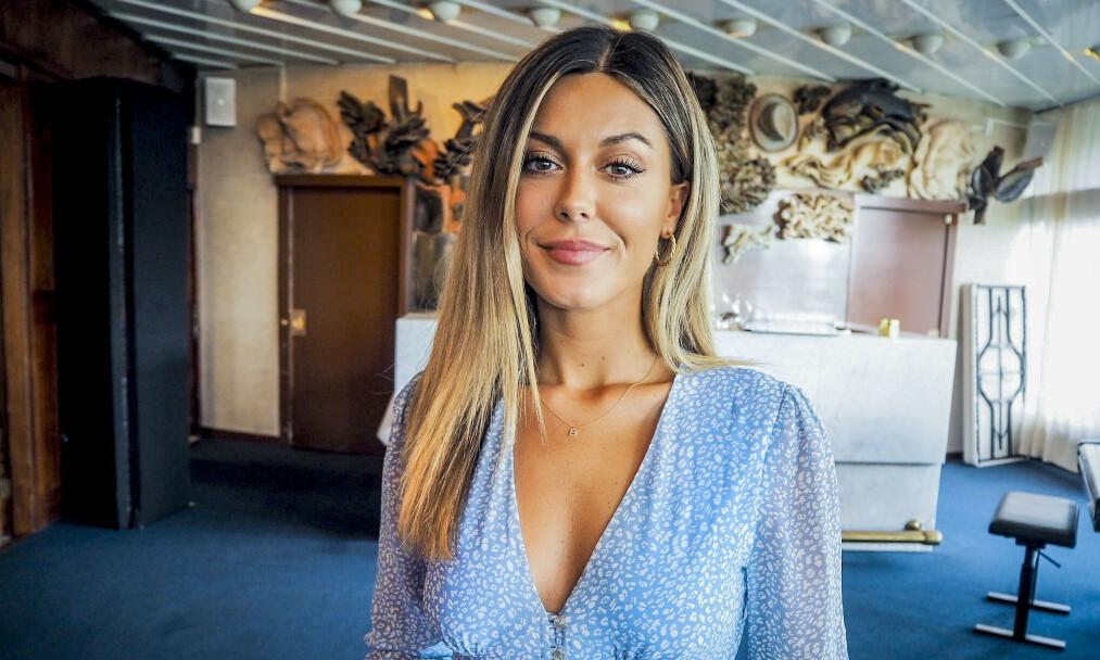 FELT: Bianca Ingrosso har mange jern i ilden. Ett av dem er kosmetikkmerket Caia, som hun reklamerer heftig for i alt hun gjør. Nå er en av merkets kampanjer felt for sexisme. Foto: Henriette Eilertsen