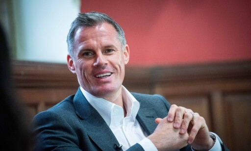ELSKER NÅR DET FYRES: Jamie Carragher vil ha verbal krangel. Foto: Roger Askew/The Oxford Union/Shutterstock/NTB Scanpix