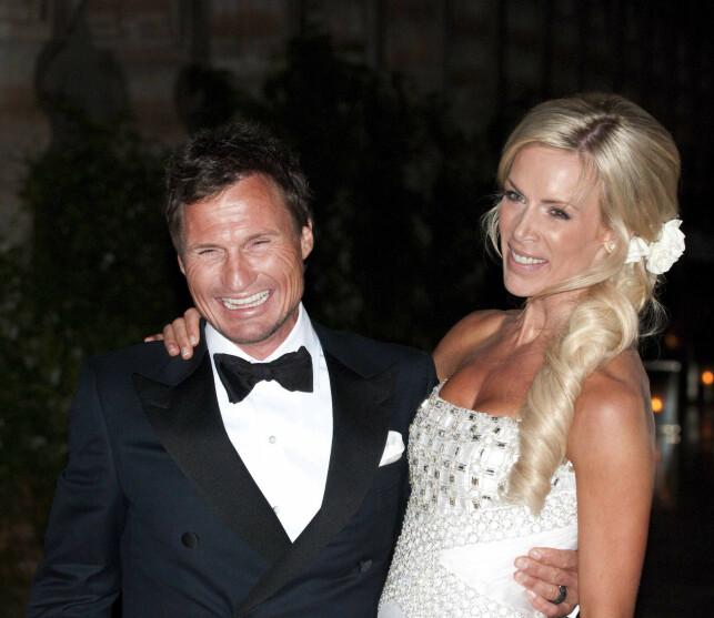 NYGIFT: Gunhild og Petter Stordalen. Foto: Dagbladet