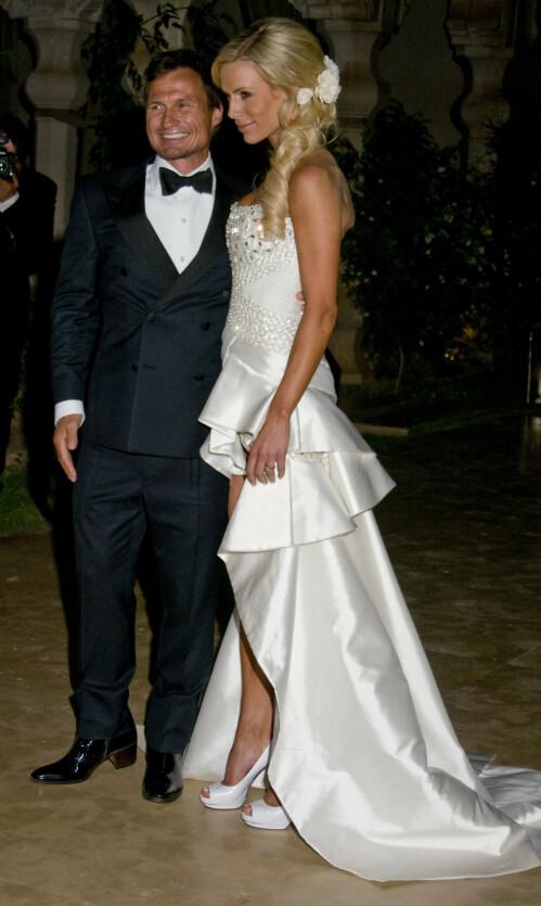 BRYLLUP: Gunhild og Petter Stordalen giftet seg i Marrakesh, Marokko, i 2010. Når har paret annonsert at de går fra hverandre. Foto: NTB Scanpix