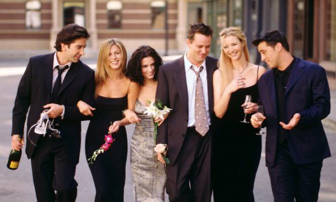 SUKSESS: Jennifer Aniston takket serien «Friends» for suksessen. Foto: NTB Scanpix