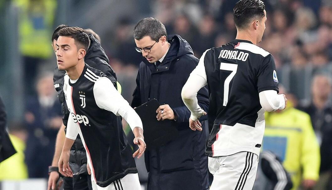 «Rasende» Ronaldo marsjerte i garderoben, forlot stadion før kampslutt