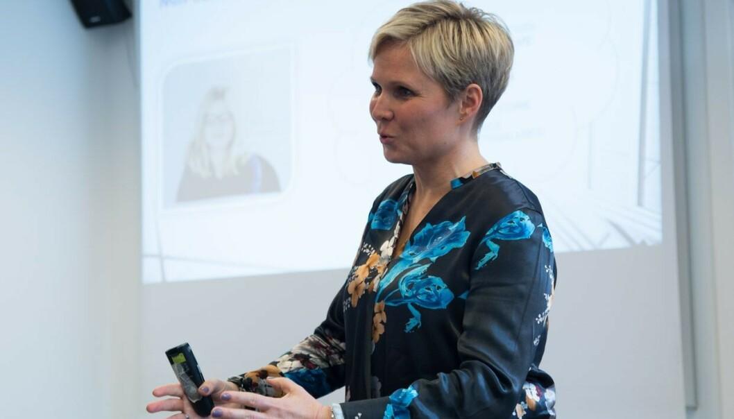 UTDANNING: Fra tidligere har Cathrine en bachelor ved BI i ledelse og markedsføring, om det skal med. FOTO: Monica Hellem