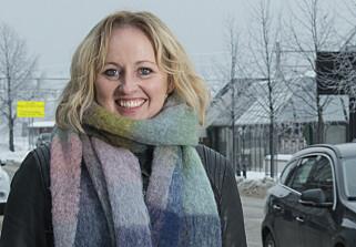 ROSER: Marianne Mittet Tanning in Trygg Trafikk Hedmark praises Kjell Nilsen for acting quickly and correctly. Photo: Trygg Trafikk
