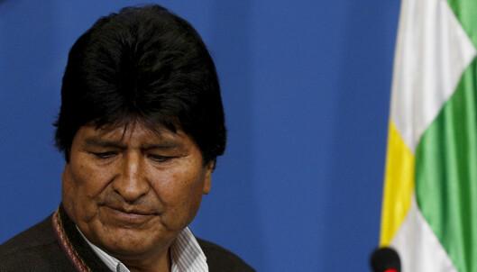 Morales får asyl i Mexico
