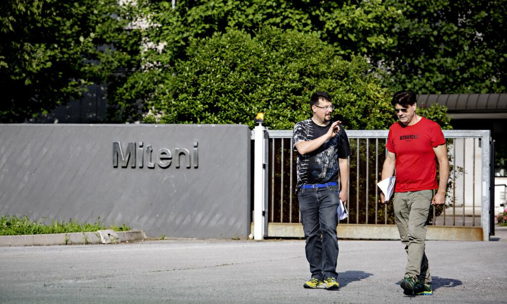 MILJØ- OG HELSESKANDALE: Miteni-fabrikken er historie etter konkursen i fjor, ifølge politidokumenter forårsaket av den tikkende miljøbomben som fabrikken var. Leveransene av fluorsmøring til Swix var en liten, men viktig del av produksjonen. Foto: Nina Hansen / DAGBLADET