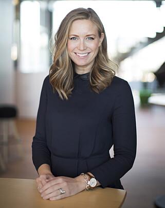 Kommunikasjonssjef Hanne Kristine Fjellheim i Sopra Steria oppfordrer selskaper til å kjøre opplæring i verktøyene, og ha klare regler. Om ikke, kan de bare bli nye tidstyver. 📸: Sopra Steria