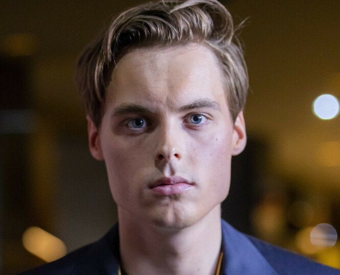 FALL I FORMUE: Gustav Magnar Witzøe opplever et mindre fall i formuen i 2018. Foto: Håkon Mosvold Larsen / NTB Scanpix