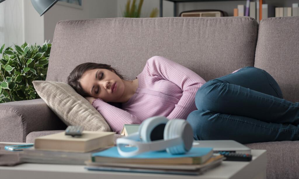 BLUND: Ved hypersomni opplever pasientene en uforklarlig trang til å sove på dagtid. Foto: Shutterstock / NTB Scanpix