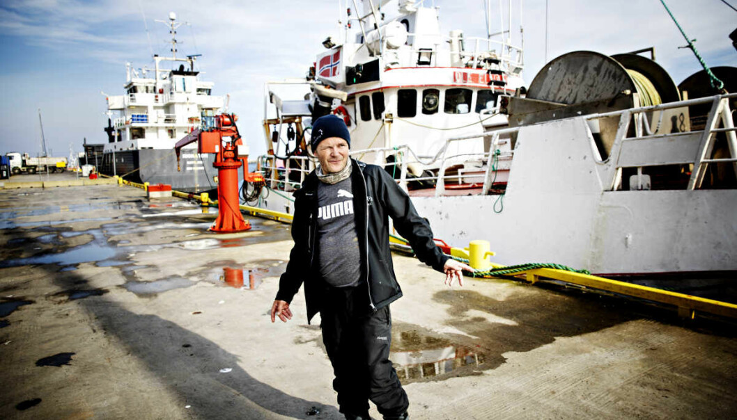 <strong>I ARBEIDS-STRID:</strong> Daglig leder i Andenes Fiskemottak, Leif Kvivesen, er ikke enig i Arbeidstilsynets konklusjoner. Foto: Nina Hansen/Dagbladet
