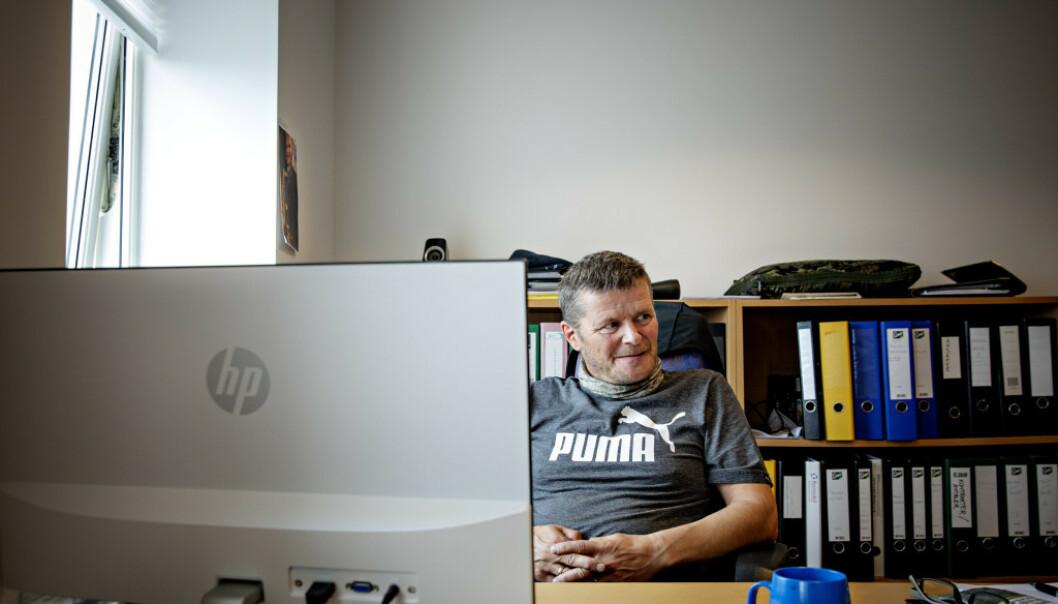 <strong>FISKEBRUKSJEF:</strong> Leif Kvivesen mener han kan dokumentere at Arbeidstilsynet tar feil. Foto: Nina Hansen / Dagbladet
