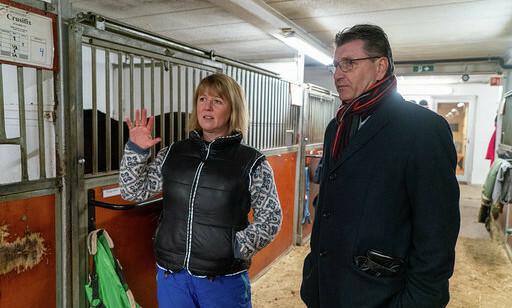 BEKYMRET: Daglig leder i Stovner ridesesenter deler bekymringen med Stein Erik Lauvås. Foto: privat