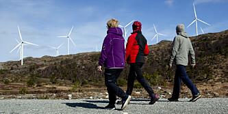 Naturen og friluftslivet taper mot vindkraften