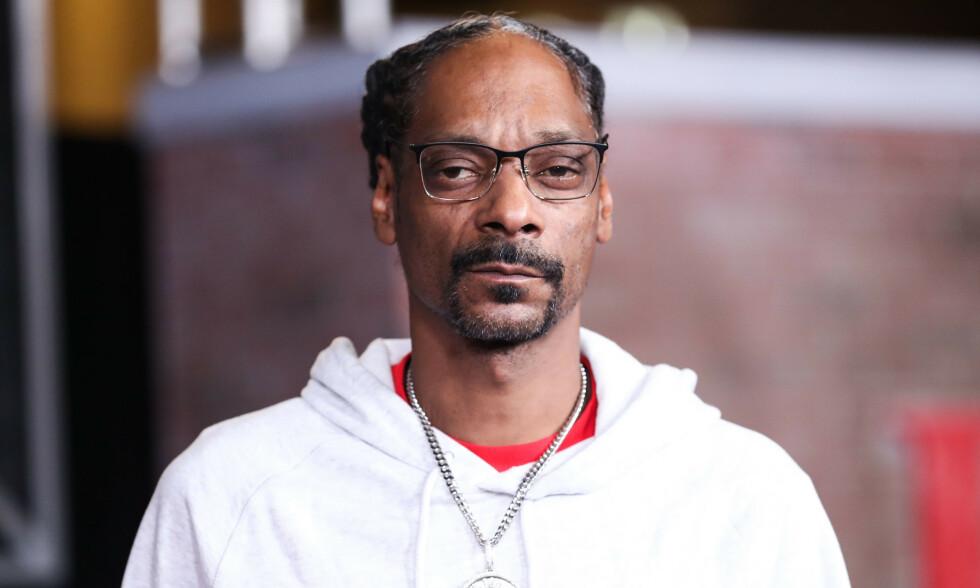 UT MED DØDSBUDSKAPET: Snoop Dogg sørger over sin avdøde venn i sosiale medier. Foto: Imange Press Agency/NTB Scanpix