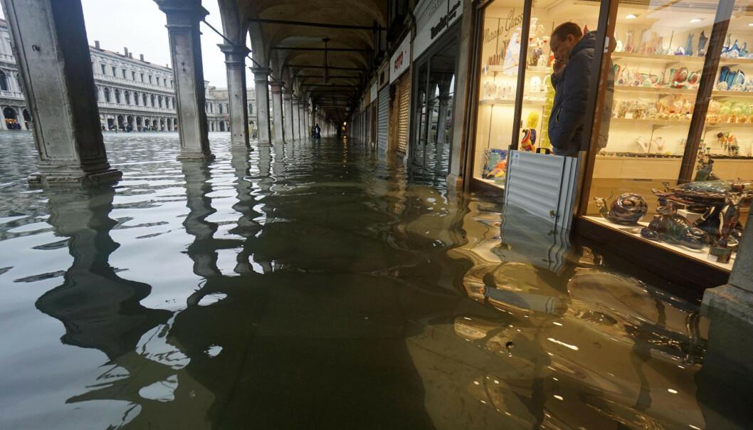 Verste oversvømmelse i Venezia på over 50 år