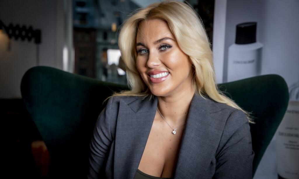 KRISE: Sveriges største blogger Isabella Löwengrip, også kjent som Blondinbella, har ikke lagt skjul på at hun har slitt den siste tida. Foto: Bjørn Langsem / Dagbladet