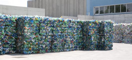 Plastbergene blir ikke mindre av et forbud
