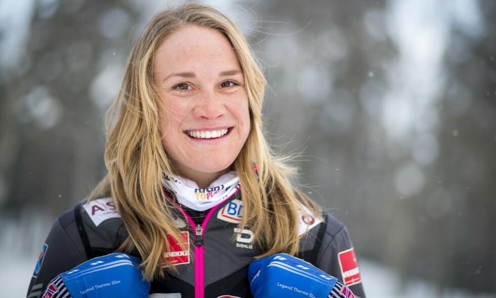 SATSER FULLT: Karrieren har virkelig satt fart for Birgit Skarstein de siste årene, men også privat smiler lykken. Bryllup må imidlertid vike for andre planer. Foto: NTB Scanpix