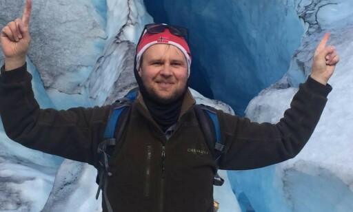 SKEPTISK: Svenn Eriksen er svært nysgjerrig på hva han har funnet. Foto: Privat