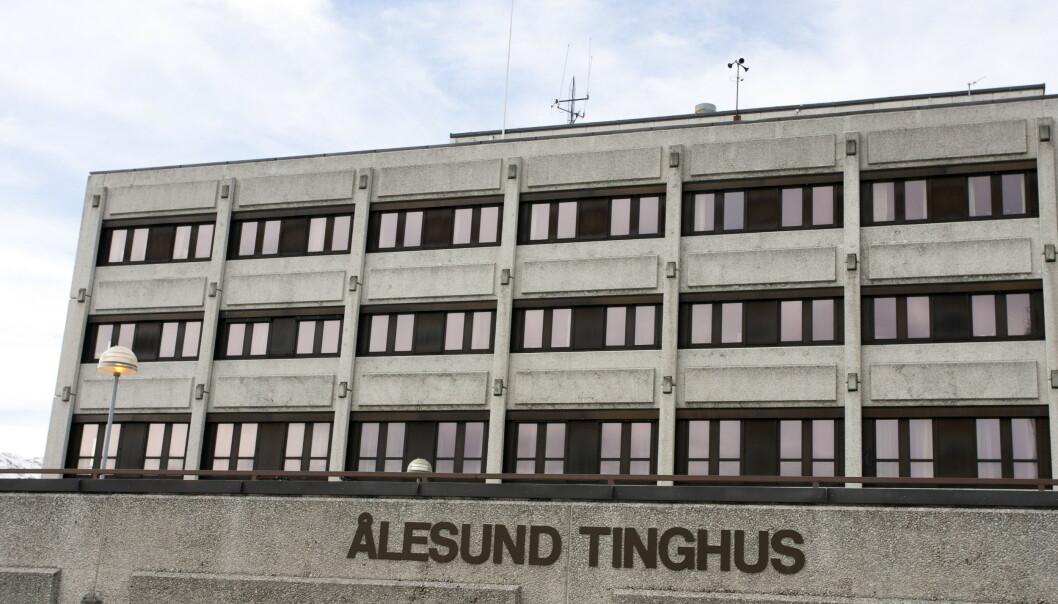 <strong>I RETTEN:</strong> Mannen må møte Sunnmøre tingrett i Ålesund i desember. Foto: Svein Ove Ekornesvåg / Scanpix