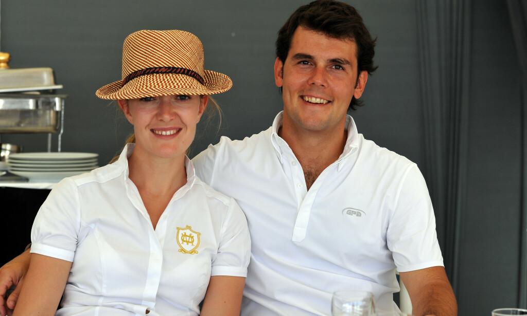 BRØT MED HVERANDRE: Marta Ortega var gift med den spanske rytteren Sergio Alvarez Moya (35) i tre år. Her avbildet sammen i 2012. Foto: NTB Scanpix