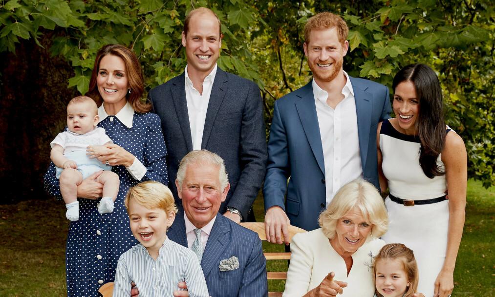 <strong>BURSDAG:</strong> Prins Harry og prins William har begge gratulert faren sin , prins Charles, i anledning hans 71-årsdag. Foto: NTB Scanpix