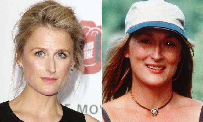 <strong>LIKE TREKK:</strong> Mamie Grammer har flere likheter til en ung Meryl Streep. Foto: NTB Scanpix