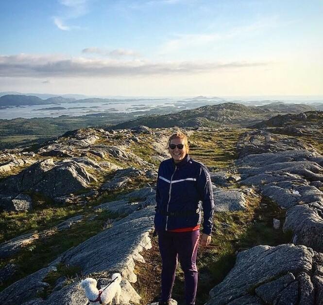 MOTIVASJON: - Å kjenne på at formen er så god at jeg kan gå på fjellturer, er motivasjon nok for meg. FOTO: Privat