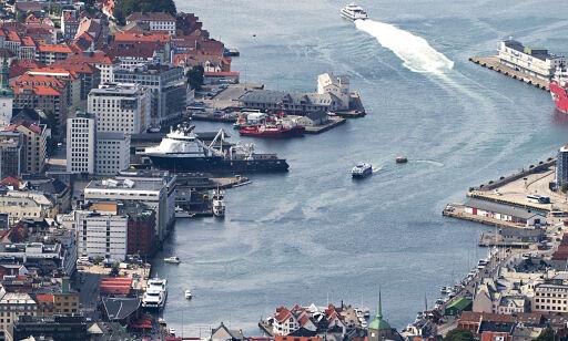 image: Bergen får 100 000 nye cruiseturister