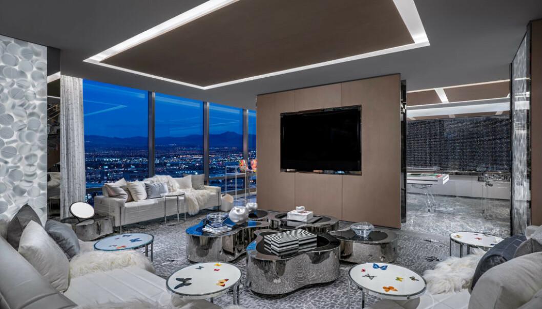 <strong>VERDENS DYRESTE:</strong> Hotellet Palms Casino Resort huser verdens dyreste hotellrom. I artikkelen under kan du se flere bilder! Foto: Palms Casino Resort.
