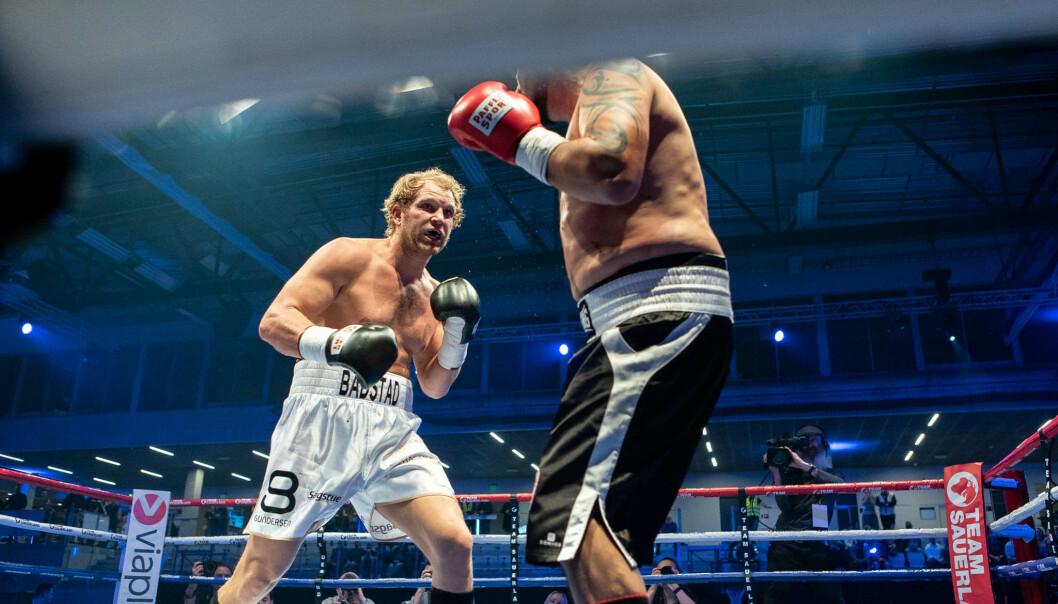 KRIGER: Kent Erik Bådstad er en kriger i ringen. Lørdag møter han ungareren Istvan Kun. Foto: Brian Kindeneh