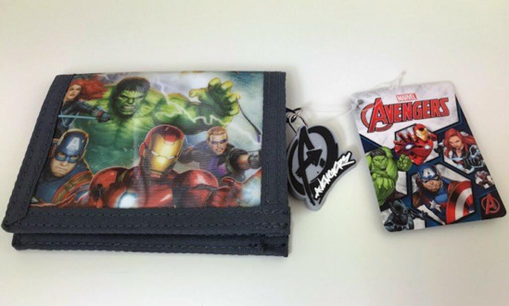 Marvel Avengers lommebok. Foto: Rapex