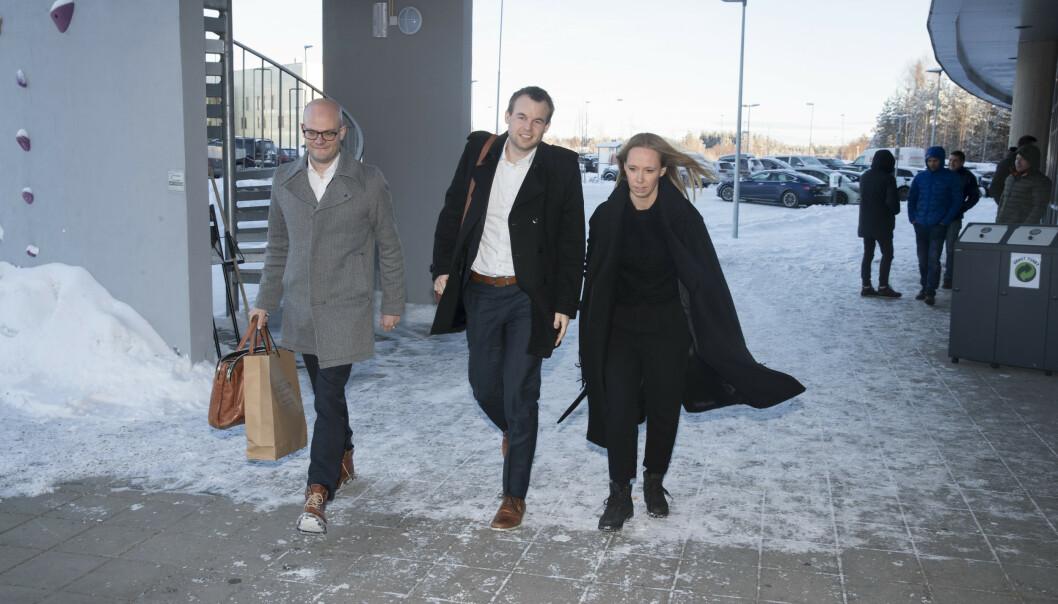 <strong>HAR FÅTT STATSSTØTTE-SVAR:</strong> Barne- og familieminister Kjell Ingolf Ropstad og statssekretær Jorunn Hallaråker. Foto: NTB Scanpix
