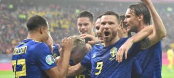 Sverige klare for EM