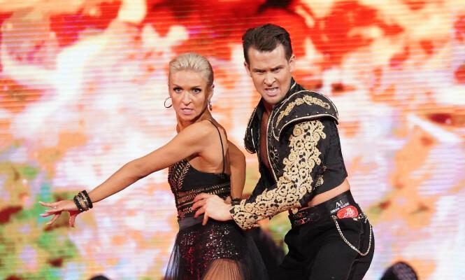 - PERFEKT: Merete Lingjærde ble kraftig imponert over Hetlands andre dans. Foto: TV 2